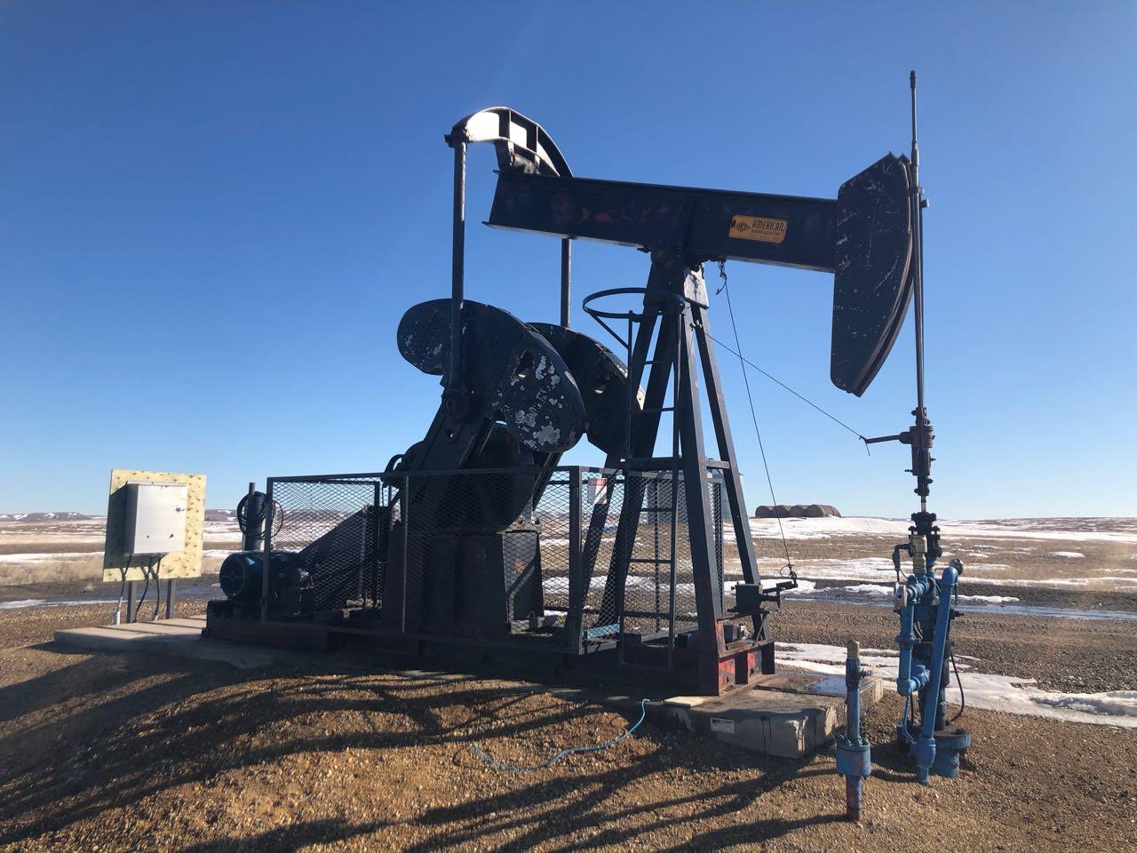 114 american pump jack