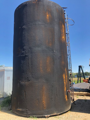 400bbl tank, insulated