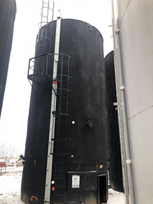 1000bbl tank insulated