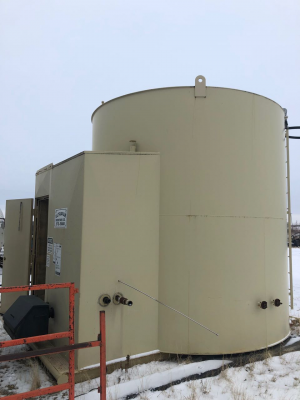 200bbl ultrafab tank with truck load out