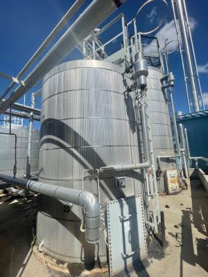 150bbl amine storage tank