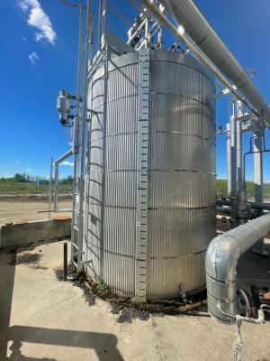 150bbl sulfolane storage tank