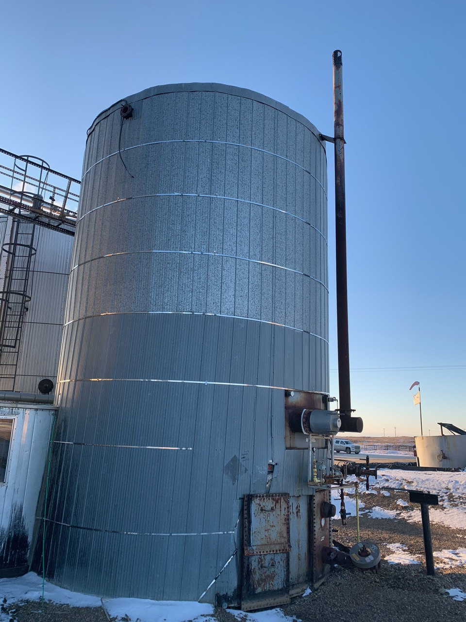 Insulated And Heated 750bbl Tank